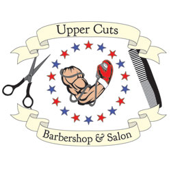 Uppercuts Barbershop & Salon Logo